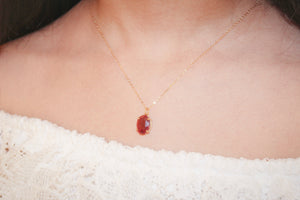 Ruby Moo Necklace