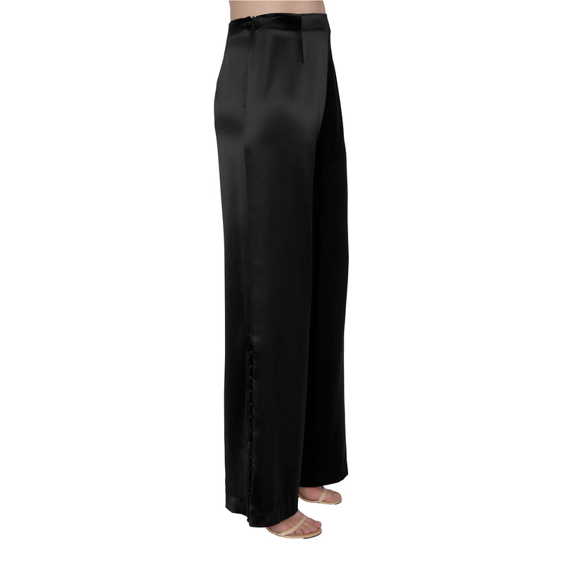 Erynn Satin Pants - New York Look fashion retail style designer brands like Uma