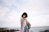Bitmap Mini White Waves Beach Towel - New York Look fashion retail style designer brands like Uma