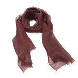 Bitmap Long Random Red Scarf