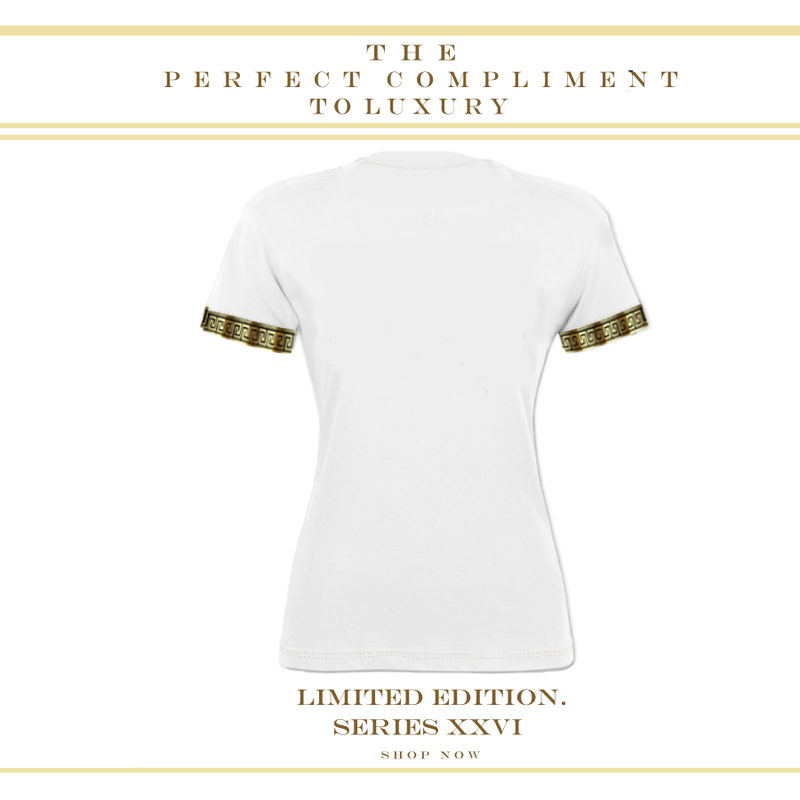 LIMITED EDITION SERIES XXVI LUXURY  WHITE T SHIRT - New York Look fashion retail style designer brands like Uma