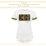 LIMITED EDITION SERIES XXVI LUXURY  PARCHMENT YELLOW T SHIRT - New York Look fashion retail style designer brands like Uma