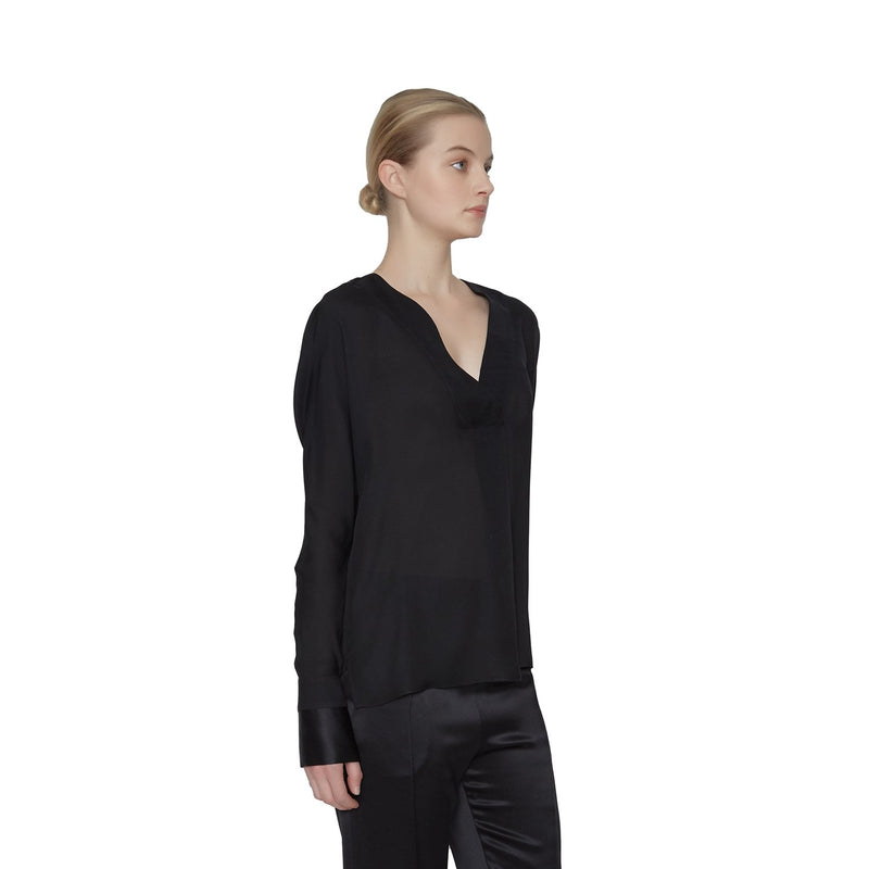 Becky Georgette Blouse  - New York Look fashion retail style designer brands like Uma