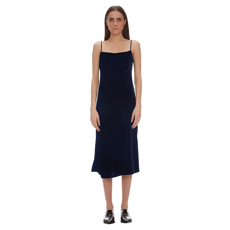 Bella Velvet Slip Dress - New York Look fashion retail style designer brands like Uma