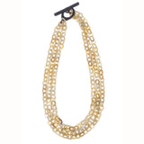 Horn 3 strands chain - New York Look fashion retail style designer brands like Uma
