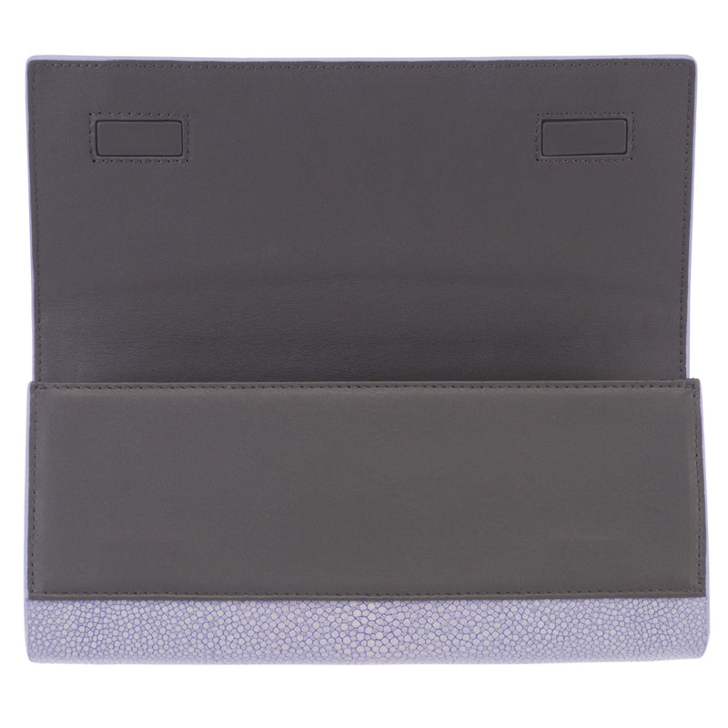 Genuine shagreen clutch bag-Iris - New York Look fashion retail style designer brands like Uma