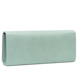 Cleo- Genuine shagreen clutch bag-Sky - New York Look