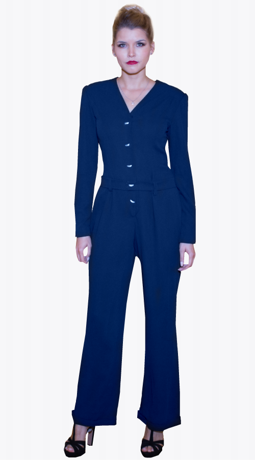 GRACE JUMPSUIT - New York Look fashion retail style designer brands like Uma