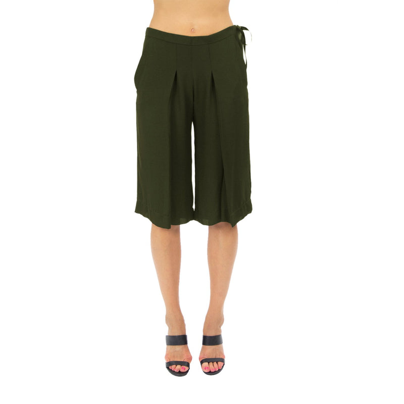 Heatherette Silk Culottes - New York Look fashion retail style designer brands like Uma