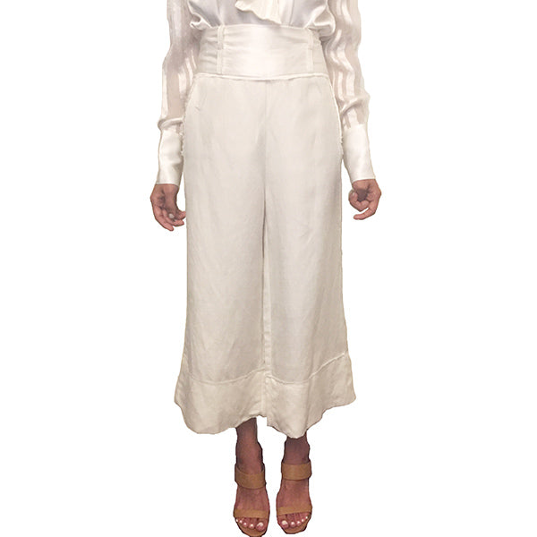 KELLY HW CROP PANTS - New York Look fashion retail style designer brands like Uma