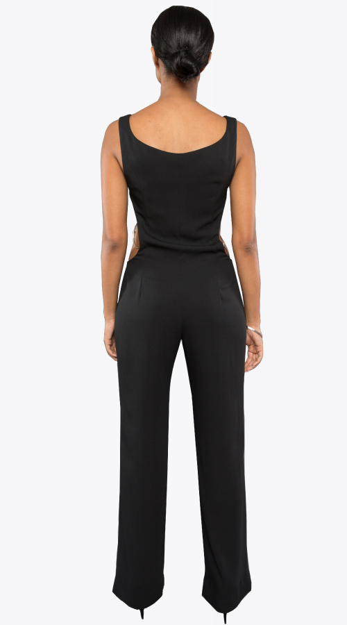 LINDSAY JUMPSUIT - New York Look fashion retail style designer brands like Uma