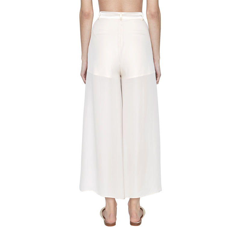 Naomi Silk Georgette Pant - New York Look fashion retail style designer brands like Uma