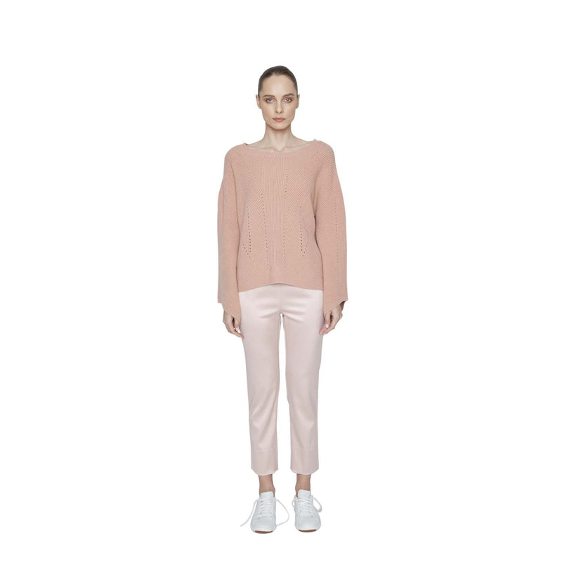 Samantha Angel Sleeve Cashmere Pullover - New York Look fashion retail style designer brands like Uma