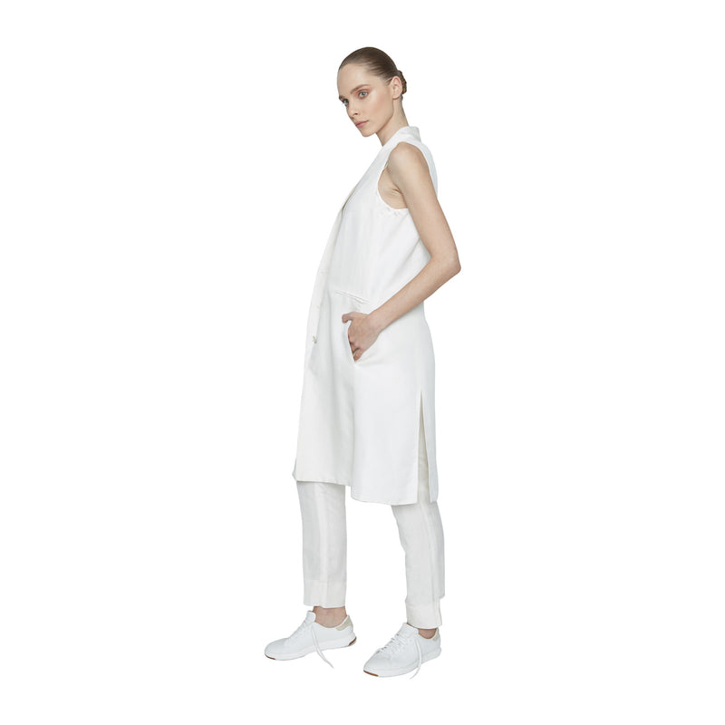 Nina Oversized Vest - New York Look fashion retail style designer brands like Uma