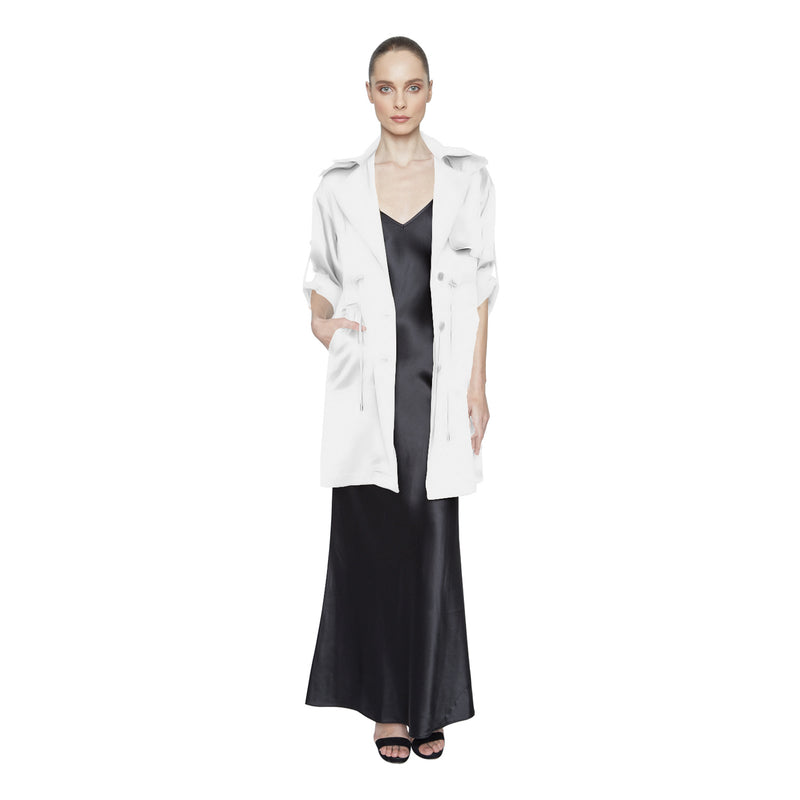 Lennox Trench Coat - New York Look fashion retail style designer brands like Uma