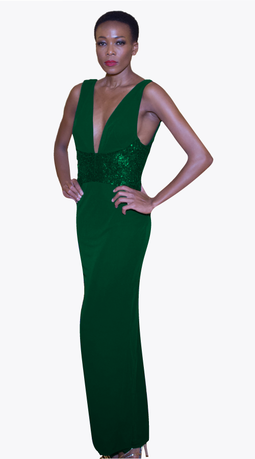 MADISON MAXI GOWN - New York Look fashion retail style designer brands like Uma