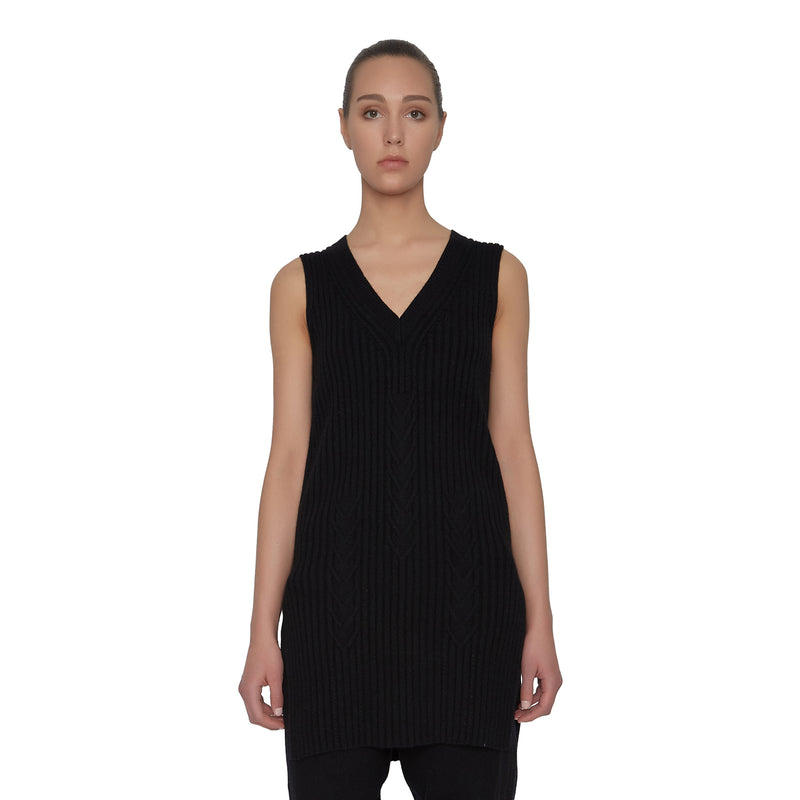 Madison Cashmere Tunic - New York Look fashion retail style designer brands like Uma