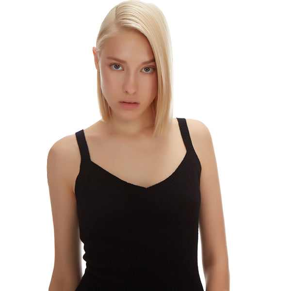 NOLITA CASHMERE TANK - New York Look fashion retail style designer brands like Uma
