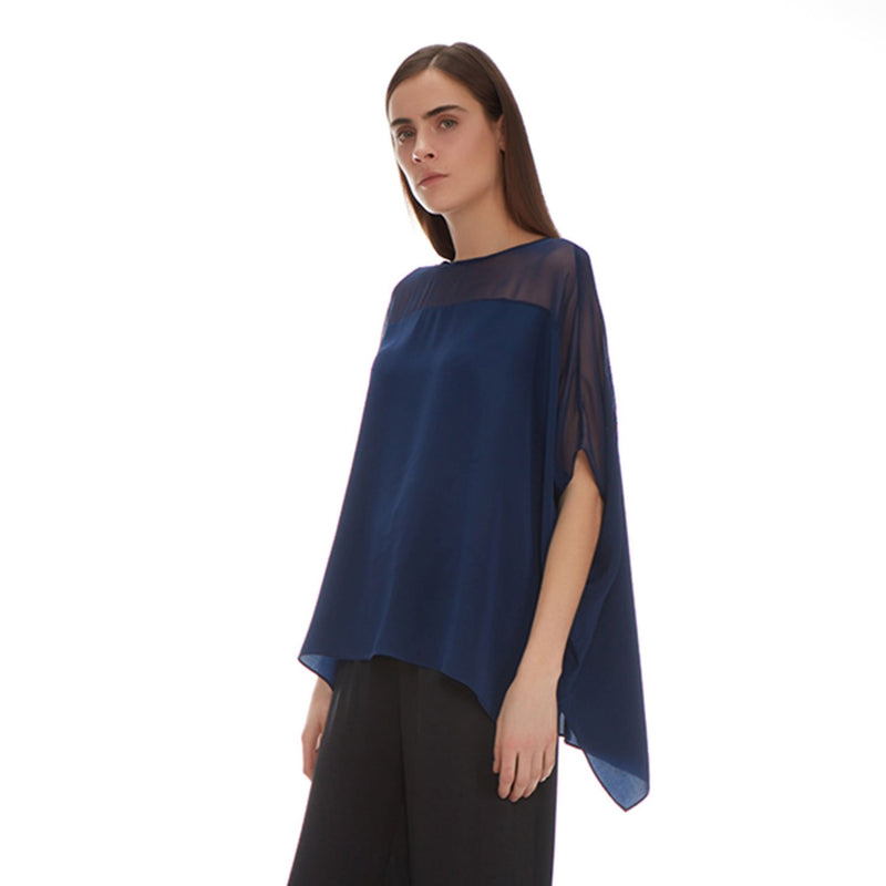 DAISY TUNIC SILK - New York Look fashion retail style designer brands like Uma