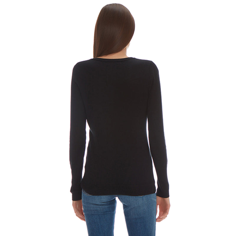 ALLEN CASHMERE CREW NECK - New York Look fashion retail style designer brands like Uma