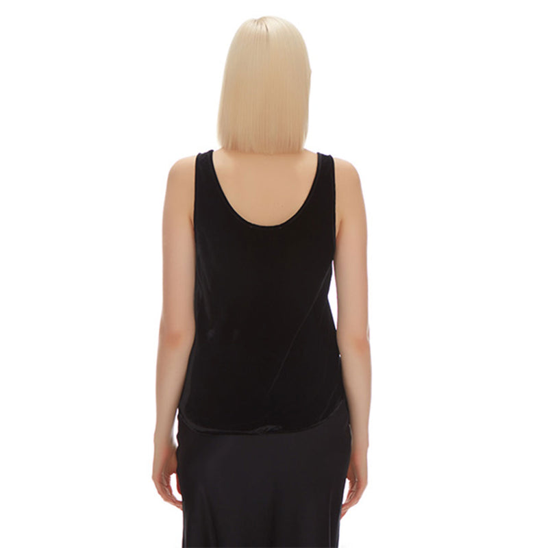 Anna Velvet Camisole - New York Look fashion retail style designer brands like Uma