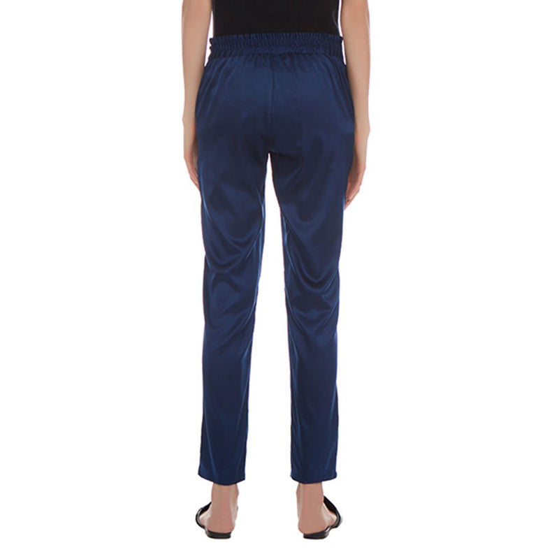 Helen Cigarette Stretch Silk Pants - New York Look fashion retail style designer brands like Uma