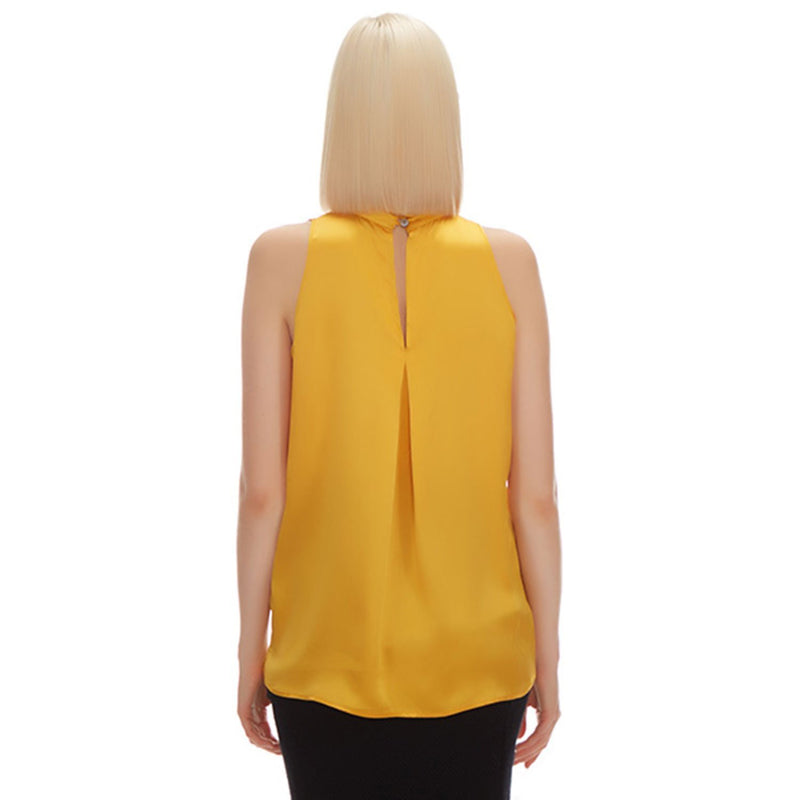 Vonne Silk Ruffled Blouse - New York Look fashion retail style designer brands like Uma