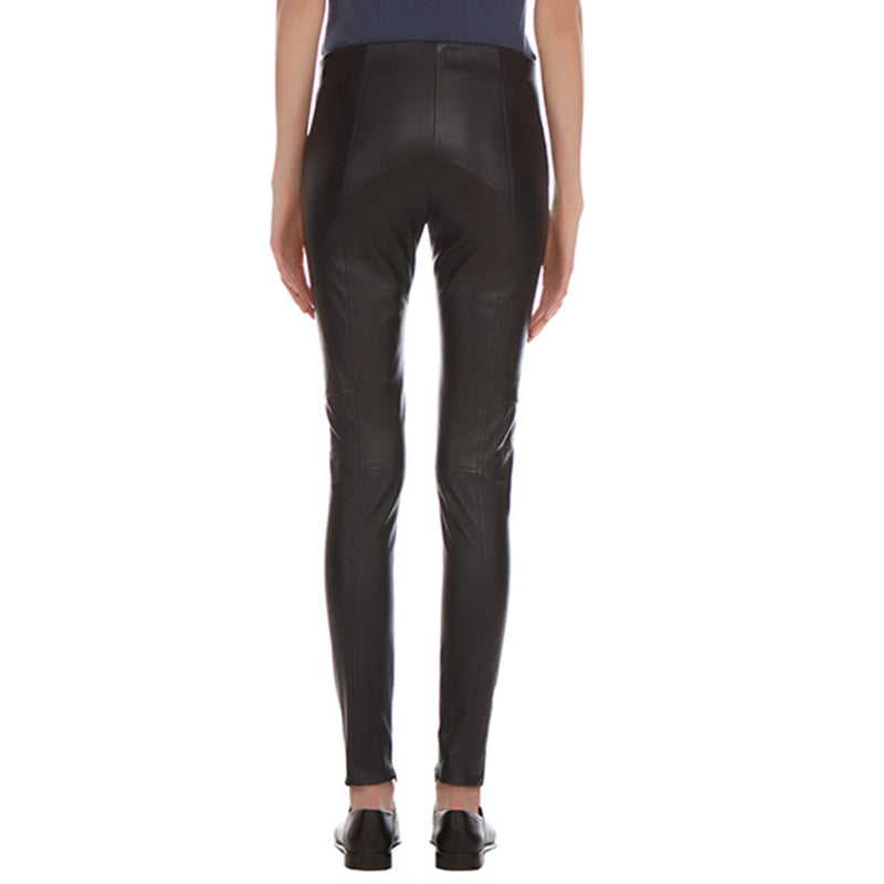 Liv Nappa Stretch Leather Pants - New York Look fashion retail style designer brands like Uma