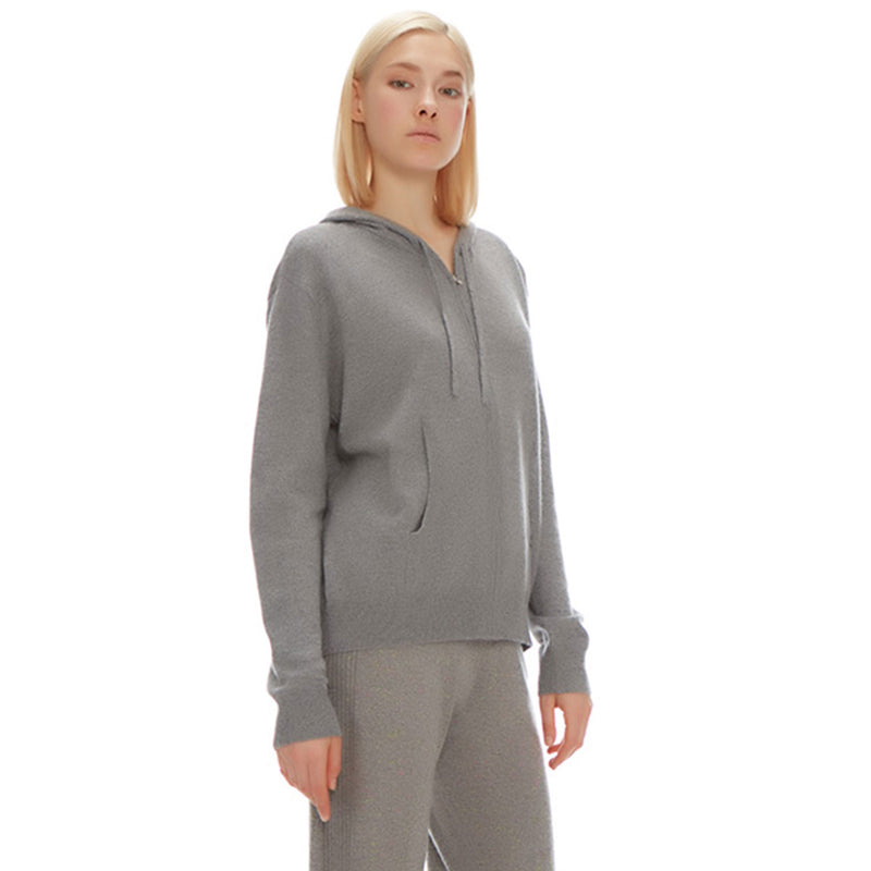Morgan Unisex Hoodie - New York Look fashion retail style designer brands like Uma