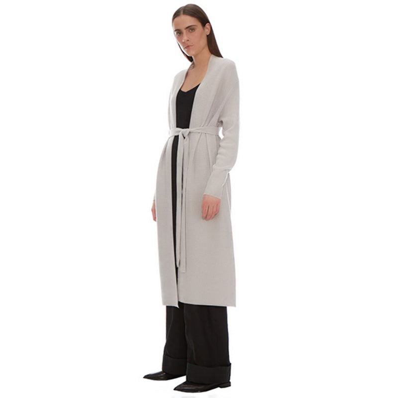 Rei Ribbed Coat - New York Look fashion retail style designer brands like Uma