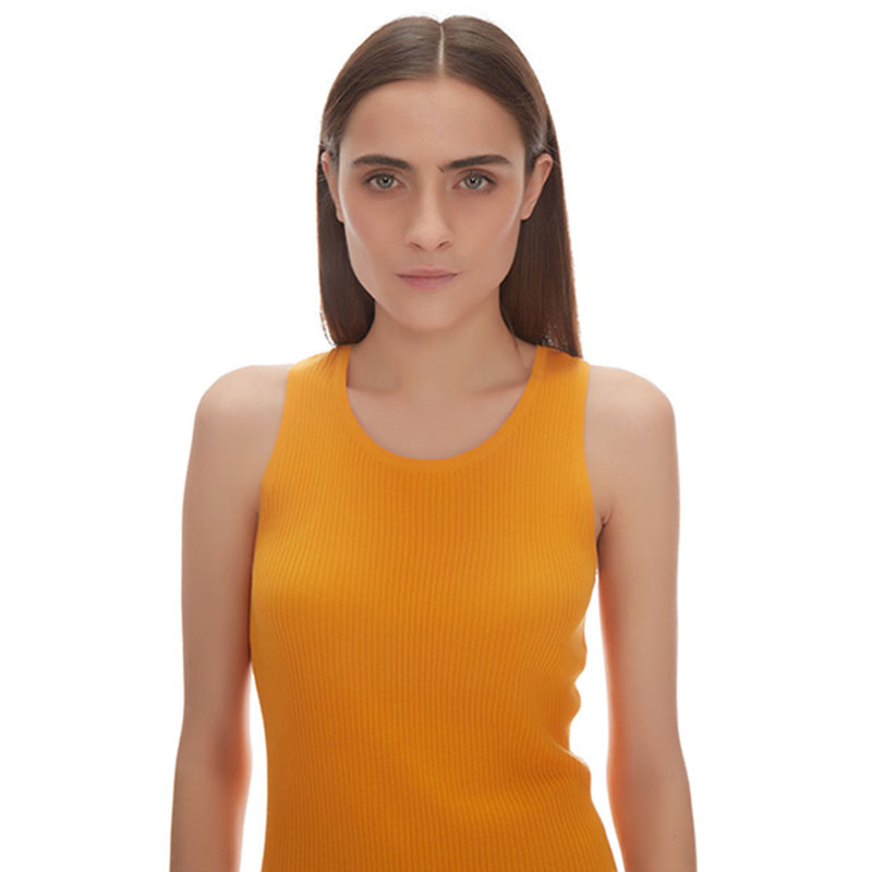 Racer Back Silk Cashmere Tank - New York Look fashion retail style designer brands like Uma