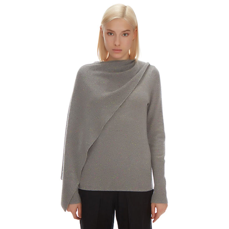 Parker Cashmere Scarf Sweater - New York Look fashion retail style designer brands like Uma