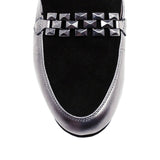 CARINA - Regina Romero Women's Leather Loafer Shoe - New York Look fashion retail style designer brands like Uma