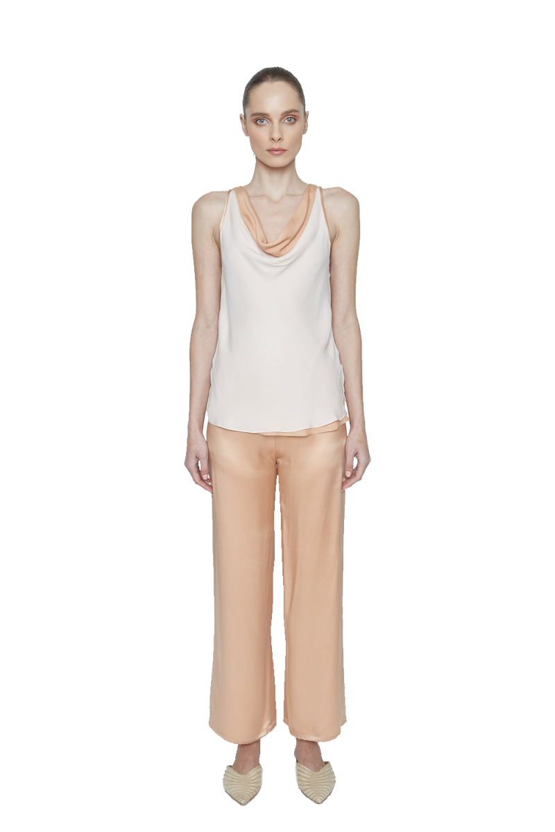 Susan Charmeuse Top - New York Look fashion retail style designer brands like Uma