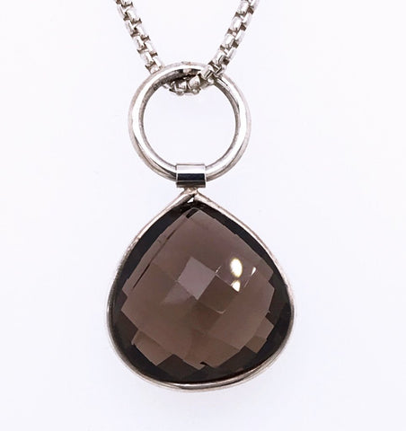 Amoret Smokey Quartz - New York Look fashion retail style designer brands like Uma