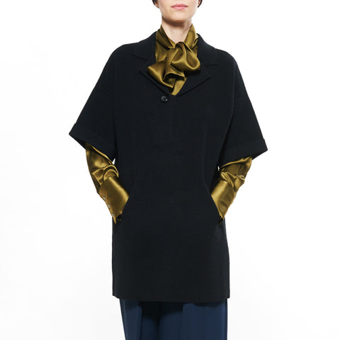 VICTORIA CASHMERE TUNIC - New York Look fashion retail style designer brands like Uma