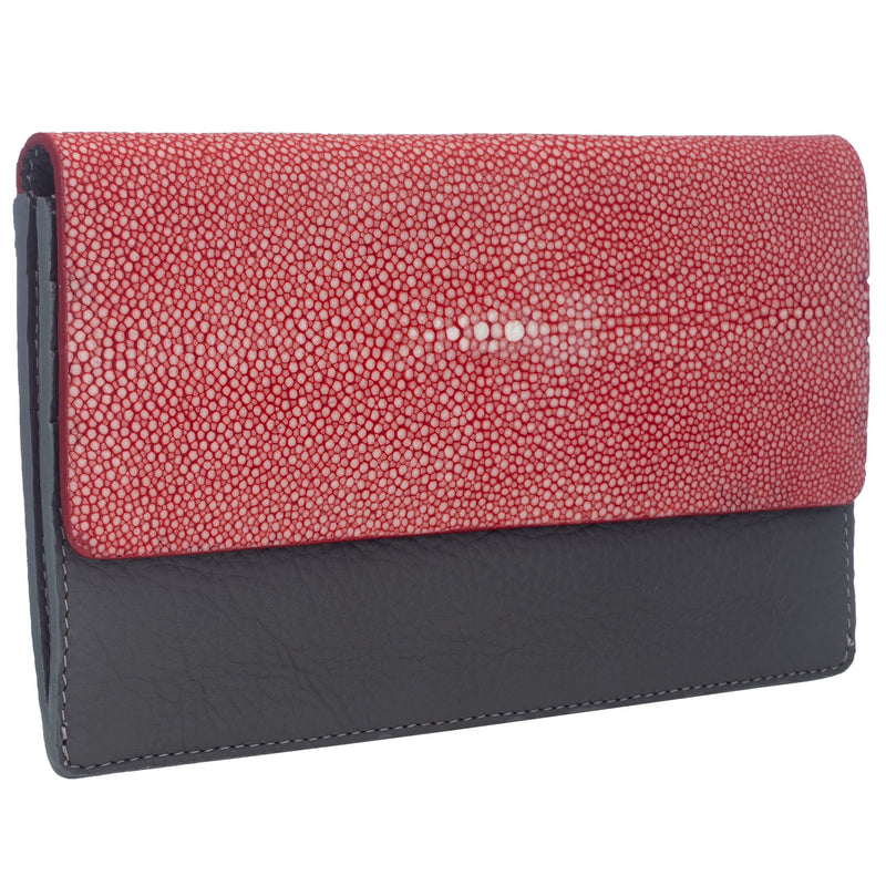 BEA Wallet-Cadet/ Scarlet - New York Look fashion retail style designer brands like Uma