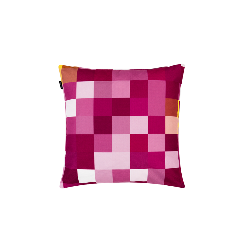 Pixel Mercury Pink Small Cushion - New York Look fashion retail style designer brands like Uma