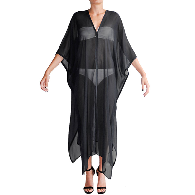 Milly Kaftan Chiffon - New York Look fashion retail style designer brands like Uma