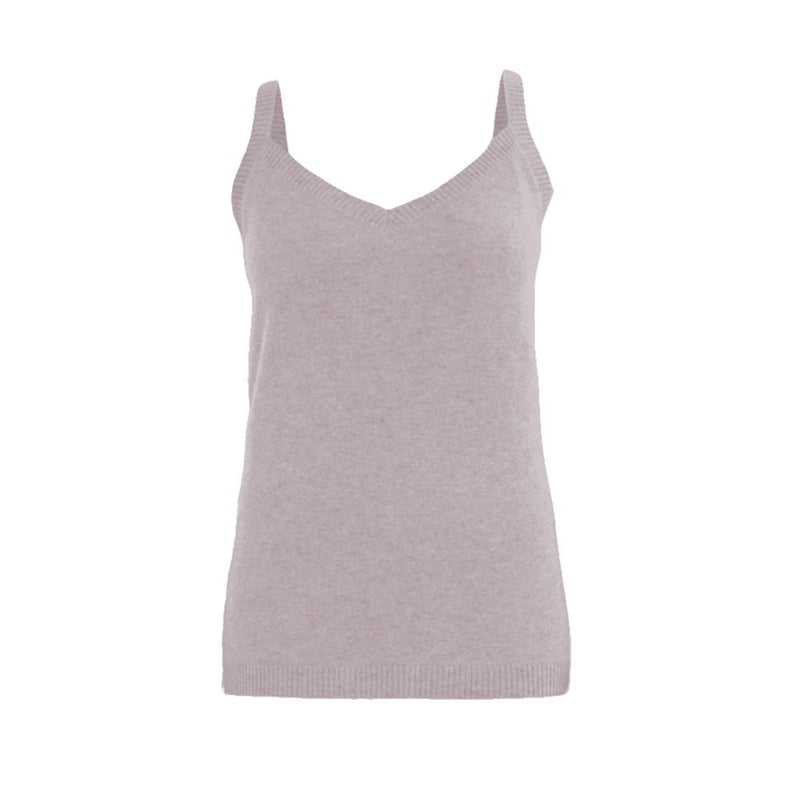 NOLITA SILK CASHMERE TANK TOP - New York Look fashion retail style designer brands like Uma