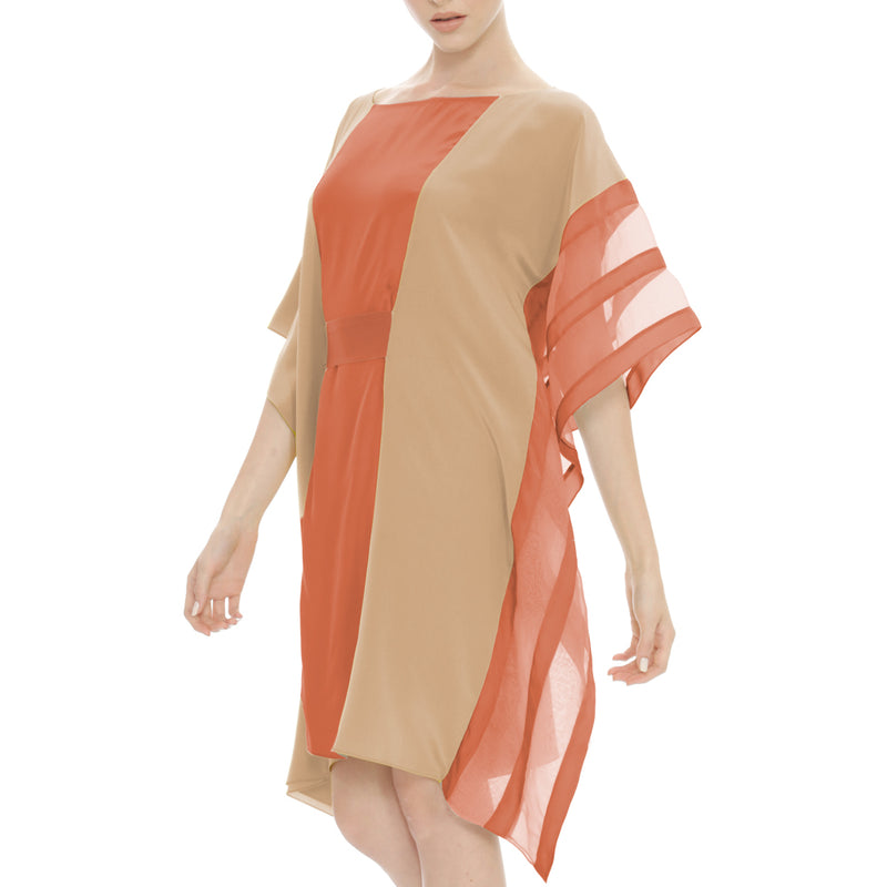 NOOR SILK COTTON KAFTAN - New York Look fashion retail style designer brands like Uma