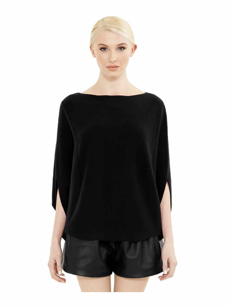 PAPILLON SILK CASHMERE PULLOVER - New York Look fashion retail style designer brands like Uma