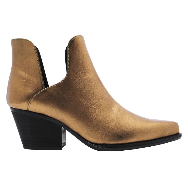 ISSA 60 - Regina Romero Women's Leather Ankle Boot - New York Look fashion retail style designer brands like Uma