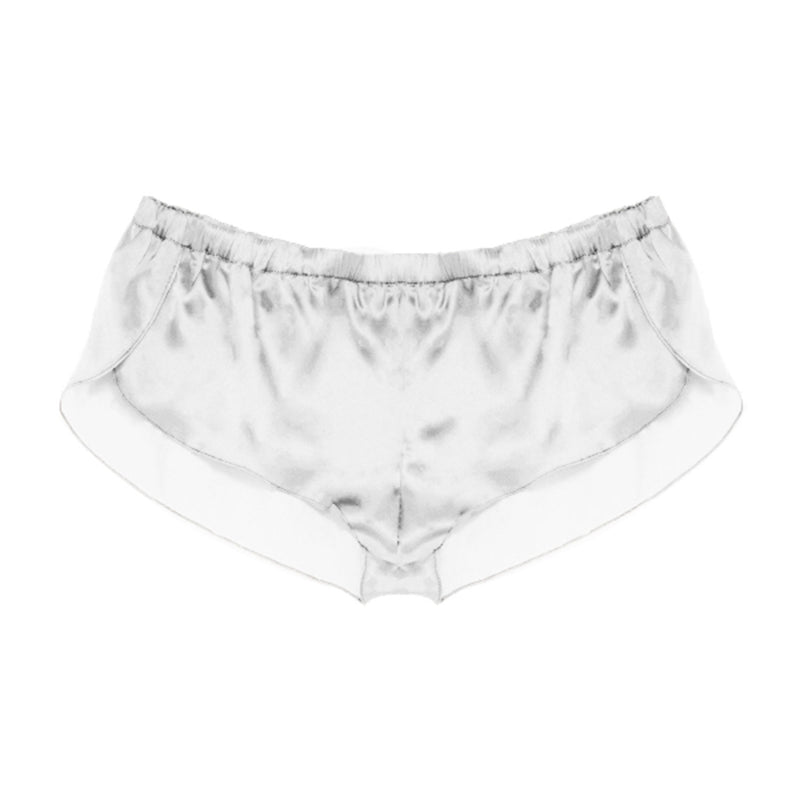 APRIL SILK TAP SHORTS - New York Look fashion retail style designer brands like Uma