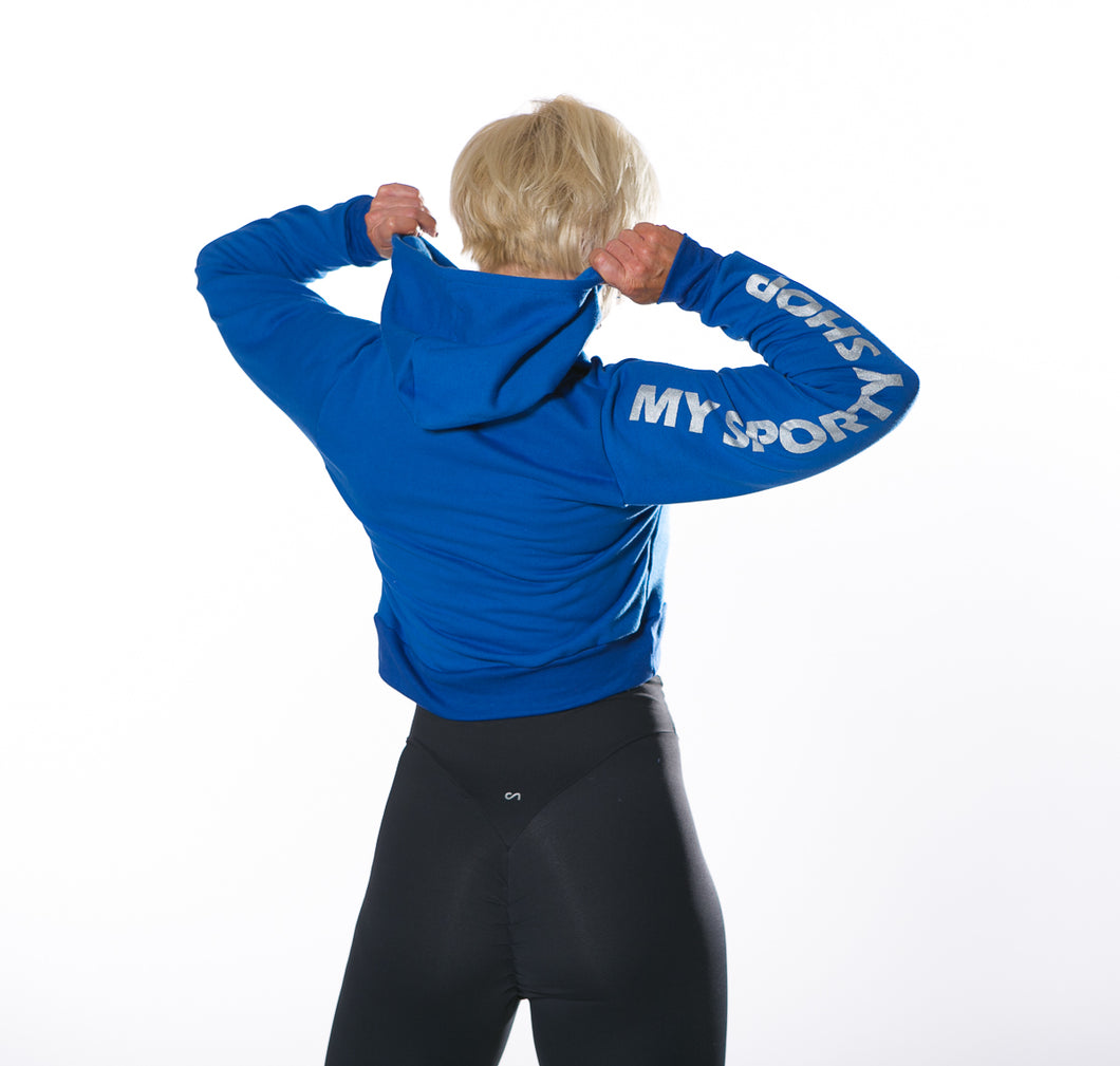 MY SPORTY WEAR LOGO SWEATSHIRT - ROYAL BLUE - MYSPORTYSHOP