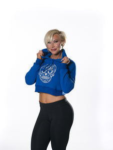MY SPORTY SHOP INSANE WORKOUT SWEATSHIRT -ROYAL BLUE - MYSPORTYSHOP