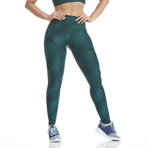 Cajubrasil Leggings Double Face Waves - MYSPORTYSHOP