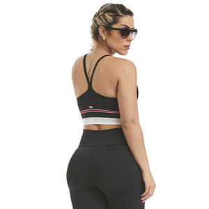 Cajubrasil Top Cropped Asymmetric - MYSPORTYSHOP