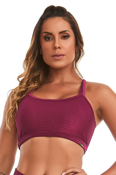 Cajubrasil purple delirium top, 11497.189