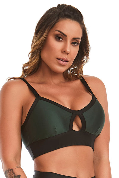 Cajubrasil Top Atletika Pocked Green - 11536.168